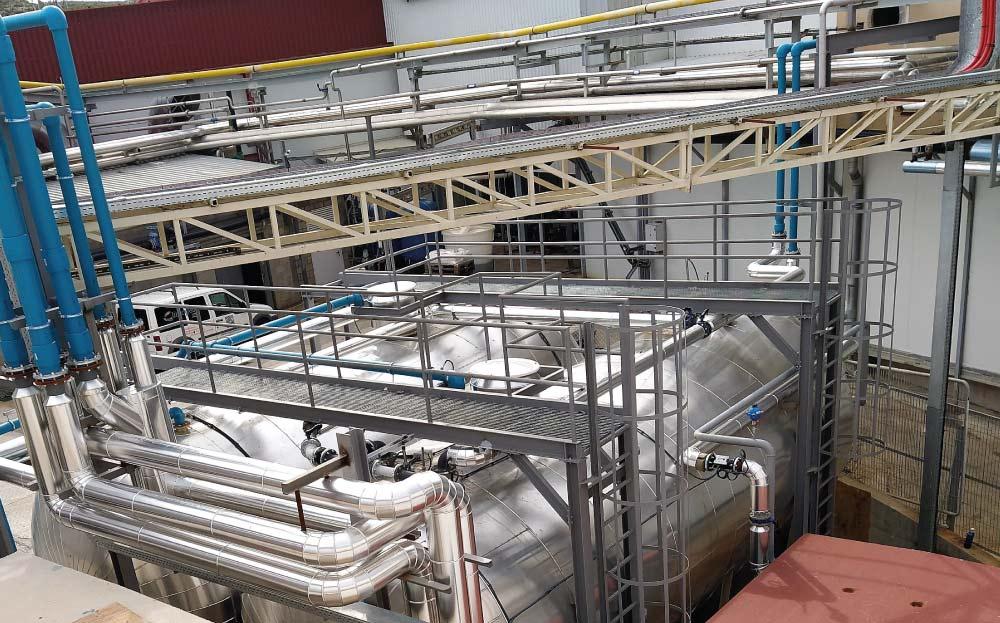 Central de recuperación de energía térmica residual | Grupo Jorge | ENSOBlue